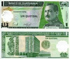 GUATEMALA 1 Quetzal Banknote World Money Currency Central America p109 2006 Bill