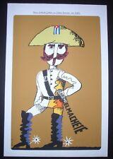 ELPIDIO VALDES / THE MACHETE / Cuban Silkscreen Movie Poster / CUBA ART by BACHS