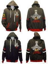 2015 Chicago Blackhawks MENS S-M-L-XL-2XL-3XL-4XL Reversible 6X Champion Jacket