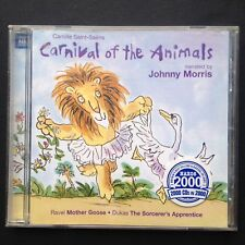 Saint-Saens CARNIVAL OF THE ANIMALS classic CD Johnny Morris Mother Goose Ravel