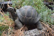 Deko Landschildkröte, Gartenfigur, lebensechte Schildkröte, Tierfigur, Reptil,