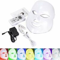 7 Colors LED Light Photon Face Mask Rejuvenation Skin Therapy For Anti Wrinkles