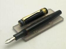 MONTBLANC 132 MEISTERSTUECK PISTON FOUNTAIN PEN IN BLACK - VINTAGE