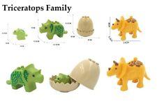 Dinosaurs Dino Egg Fossils Toy Animals Animal Bundle Set Building Bricks Blocks