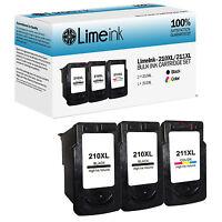 3 PG-210XL CL-211XL Ink Cartridges For Canon PIXMA MP495 MX320 MX330 MX340 MX350