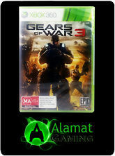 Gears of War 3 (Xbox 360 & Xbox One playable) VGC - Free Post