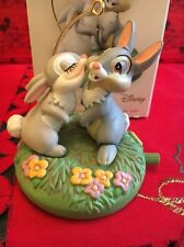 Christmas Disney Hallmark Keepsake All Atwitter Thumper Bambi Ornament In Box