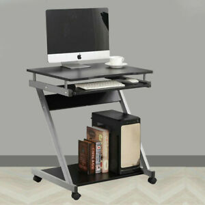 Small Computer Desk PC Laptop Corner Desk Home Office Gaming Table Keyboard Tray