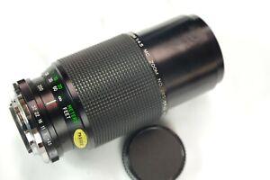 For Olympus 80-200mm f/4.5 Vivitar OM mount zoom lens for OM-1 OM-10