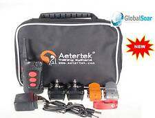 Aetertek AT-918C  2 Dog Training Shock Collar w/ auto anti-bark & waterproof