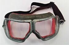 Occhiali da pilota aeronautica vintage, d'epoca custom seconda guerra mondiale