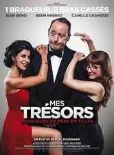 Affiche 120x160cm MES TRESORS (2017) Jean Reno, Kherici, Camille Chamoux NEUVE