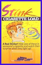 1 PACK OF 6 Stink Bomb Cigarette Loads GAG GIFT Smokin JOKE  TRICK PRANK