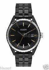 Nixon Original Minx A934-2126 All Black / Gold / Silver 39mm Watch