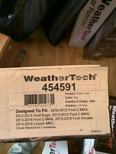 WeatherTech FloorLiner Mats for Ford C-Max/ Ford Escape/ Lincoln MKC - 1st Row