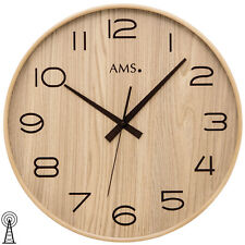 XL Ams 50 Wall Clock Rc Radio Living Room Controlled Exchange Office 169
