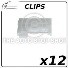 Clips Garniture Bodyside clips toit ouvrant moulures Renault Kangoo partie: 9992 12 Pack