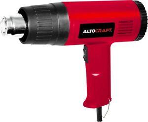 Altocraft 1500W Dual Temperature Heat Gun Accessories Shrink Wrapping 4 Nozzles