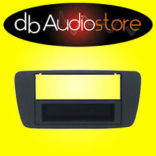 MA/397N Mascherina Autoradio Seat Ibiza Nero Opaco 1 2DIN Adattatore VanoRadio