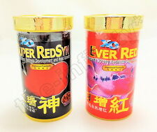 2x100g XO OCEAN FREE SUPER RED SYN EVER RED Flowerhorn Cichlids Fish Food M L