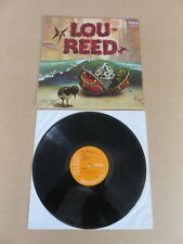 LOU REED S/T Debut RCA glossy labels 1972 1E /1E UK 1st pressing vinyl LP SF8281