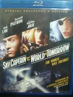 Sky Captain and the World of Tomorrow (Blu-ray Disc, 2017) Jude Law WORLD SHIP