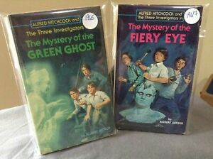 2 Alfred Hitchcock and the Three Investigators 1960s Vintage Paperback Books