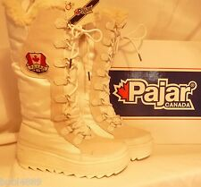 LADIES PAJAR GREENLAND WATERPROOF THERMAL BOOTS WHITE UK SIZE 7 euro 40