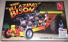 AMT Blazing Bison Pulling Tractor 1/25 plastic model car truck kit new 1006