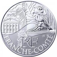Franche-Comté 2011 - 10 Euro des Régions en Argent