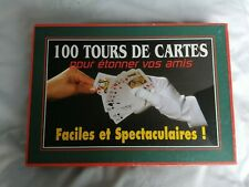 jeu de magie 100 tours de cartes
