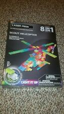 Laser Pegs Scout Helicopter 8 In 1 new