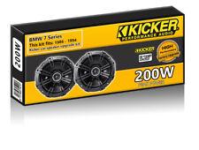 "BMW 7 Series E32 Kick Panel Speakers Kicker 5.25"" 13cm car speaker upgrade 200W"