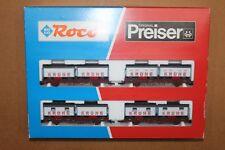 """Roco 44008 set """" CIRCUS KRONE"""", sur wagons Kbs DB Ep. IV"""