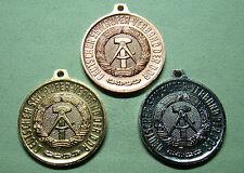 DDR Medaillen - DSLV - Deutscher Skiläufer Verband - Meisterschaften 1989