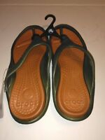 Crocs Unisex Athens-Army Green/Sienna color-NWT-Free Shipping