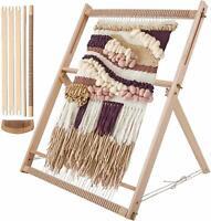 WILLOWDALE Wooden Looming Set Tapestry Loom Kit Weaving Loom Kit LARGE