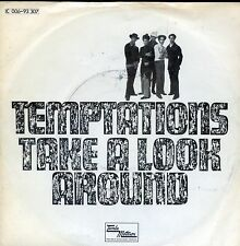 7inch TEMPTATIONS take a look around GERMAN EX +PS 1971