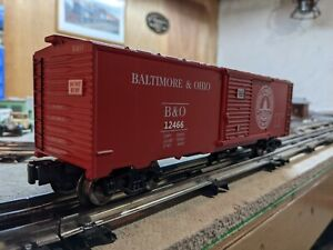 Menard's #279-4254 Baltimore & Ohio O Gauge Boxcar