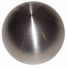 "Brushed Stainless Steel Heavy weight 2"" shift knob M8x1.25"
