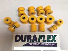 Toyota Starlet RWD bush set Duraflex High performance Polyurethane