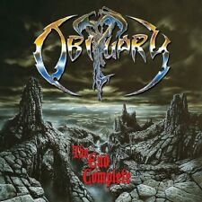 Obituary-The End Complete Vinyl LP Cover Sticker or Magnet