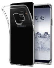 Custodia Samsung Galaxy S9 2018 Cover Trasparente Protettiva Spigen in TPU Clear