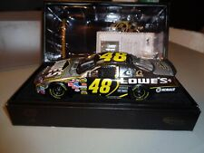 Owners Elite White Gold 1:24 Die Cast Jimmie Johnson #48 Lowe's 2006 Nextel Cup
