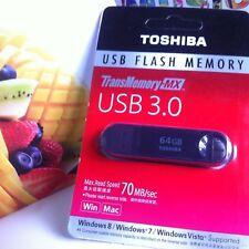 64gb memory stick Toshiba USB 3.0 Flash Drive USB Pen Drive Fast 2018