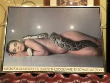 Vintage Original 1969 NASTASSJA KINSKI And The SERPENT RICHARD AVEDON POSTER