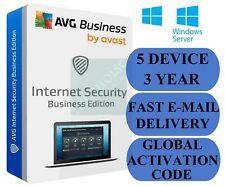 AVG Internet Security Business Edition 5 PC / 3 Year (Global Activation Code)
