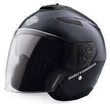Harley Davidson Maywood 3/4 Helmet, Midnight Blue, 98361-19EX, Size Large