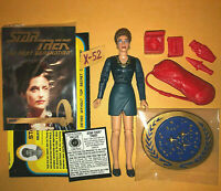 STAR TREK TNG captain picard lover VASH action figure TOY playmates toys