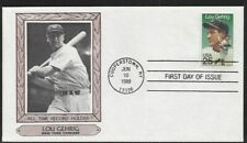#2417 Lou Gehrig First Day Cover All Time Record Holder